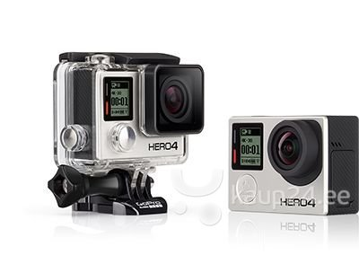 GoPro HERO4 Black Edition seikluskaamera