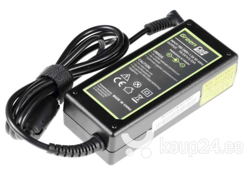 Green Cell PRO AC Adapter for HP Envy Sleekbook Ultrabook 19.5V 3.33A 4.5-3.0mm hind
