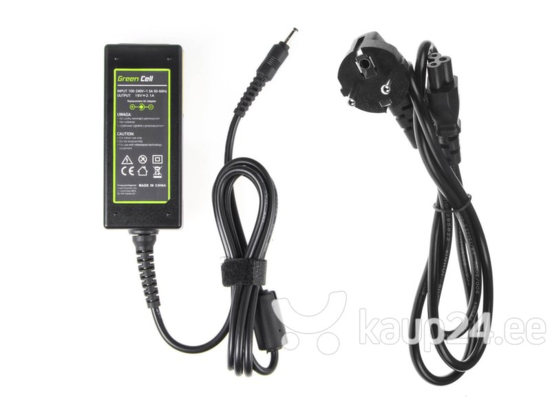 Aku Green Cell AC Adapter for Samsung NP300U NP530U3B-A01 NP900 19V 2.1A