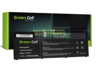 Sülearvuti aku Green Cell Laptop Battery for Acer Aspire Timeline Ultra M3 M3-581TG M5 M5-481TG M5-581TG TravelMate P648 P658