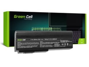 Sülearvuti aku Green Cell Laptop Battery for Asus G50 G51 G60 M50 M50V N53 N53SV N61 N61VG N61JV