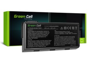 Sülearvuti aku Green Cell Laptop Battery for MSI A6000 CR500 CR600 CR700 CX500 CX600