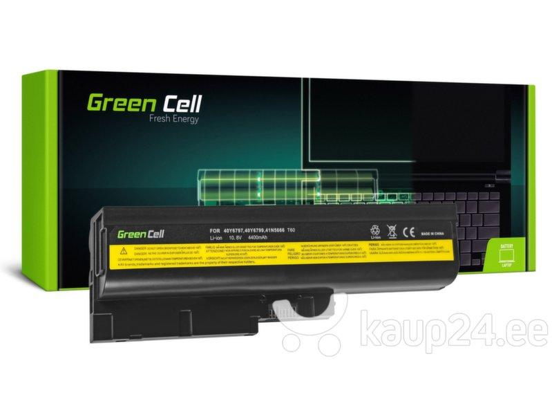 Sülearvuti aku Green Cell Laptop Battery for IBM Lenovo ThinkPad T60 T61 R60 R61