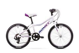 """Велосипед для девочек Romet Jolene Alu 20"""" Kid 1 2019, белый"""