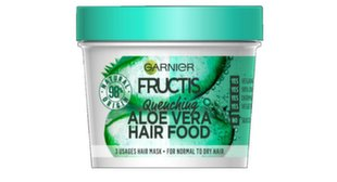 Juuksemask Garnier Fructis Hair Food Aloe 3-in-1 390 ml hind ja info | Juuksemask Garnier Fructis Hair Food Aloe 3-in-1 390 ml | kaup24.ee