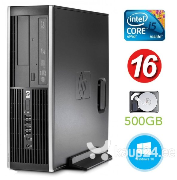 HP 8300 Elite SFF i5-3470 16GB 500GB DVDRW WIN10Pro
