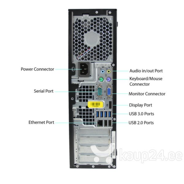 HP 8300 Elite SFF i5-3470 8GB 320GB DVDRW WIN7Pro