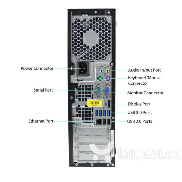 HP 8300 Elite SFF i5-3470 8GB 480SSD DVDRW WIN7Pro