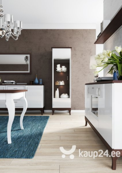TV laud Massimo 25, pruun/valge