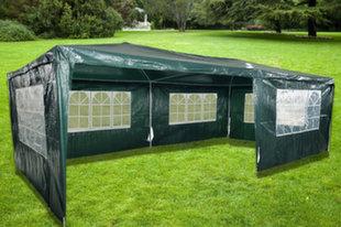5 seinaga aiapaviljon ZRG010-A, 600x300 cm, roheline