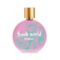 Tualettvesi Desigual Fresh World EDT naistele 100 ml
