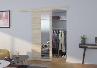 Uksed niši jaoks koos peegliga Malta 90, tamme värv hind ja info | Kapid | kaup24.ee