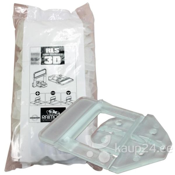 3D скобки (1 мм) для плитки 3-12 мм, 100 шт.