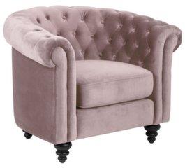 Tugitool Charlietown Vic 1, roosa hind ja info | Diivanid ja pehme mööbel | kaup24.ee