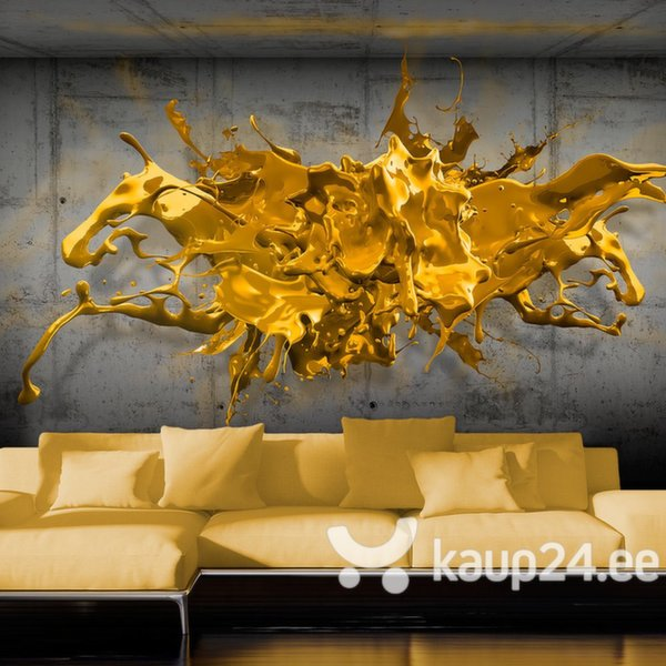 Fototapeet - Yellow Splash