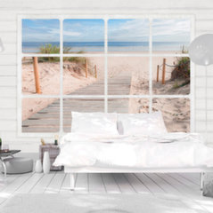 Fototapeet - Window & beach