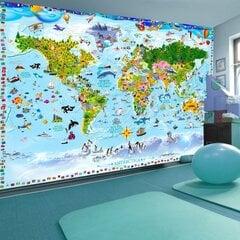 Fototapeet - World Map for Kids