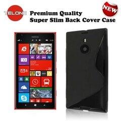 Kaitseümbris Telone / Nokia Lumia 1520, must hind ja info | Mobiili ümbrised, kaaned | kaup24.ee