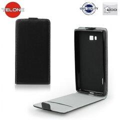 Kaitseümbris Telone Flexi Slim Flip / Samsung Galaxy A5 (A500), must