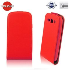 Kaitseümbris Telone Flexi Slim Flip / Sony Xperia Z3 Compact, punane