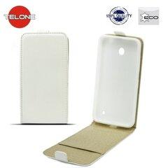 Kaitseümbris Telone Shine Pocket Slim Flip Case LG L90 D405, Valge