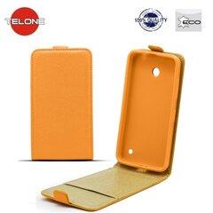 Telone Shine Pocket Slim Flip Case LG D405n Optimus L90 вертикальный Чехол-книжка Оранжевый