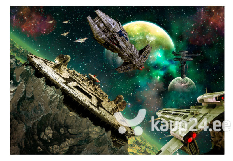 Fototapeet - Space fleet