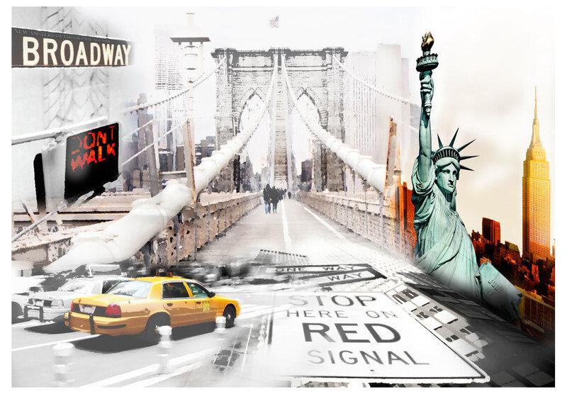Fototapeet - New York streets