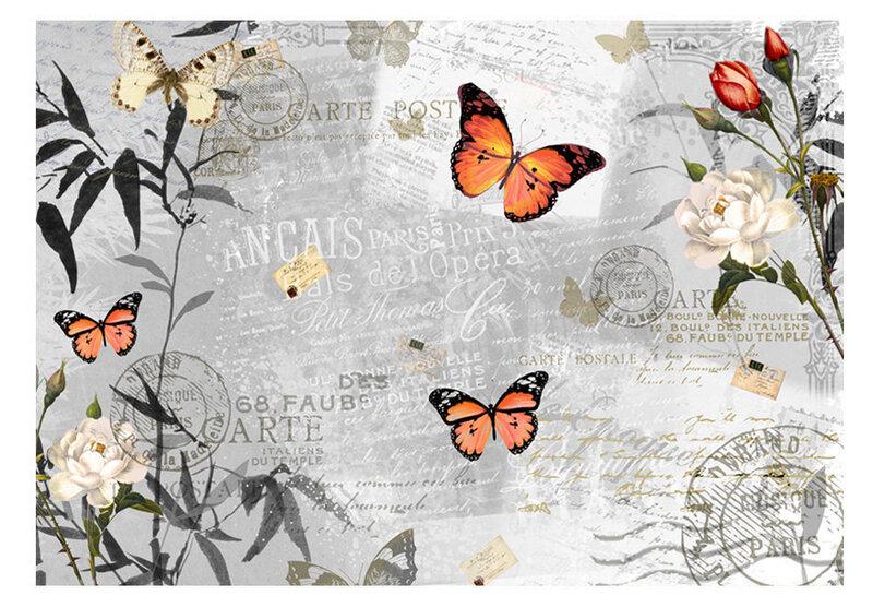 Fototapeet - Butterflies song