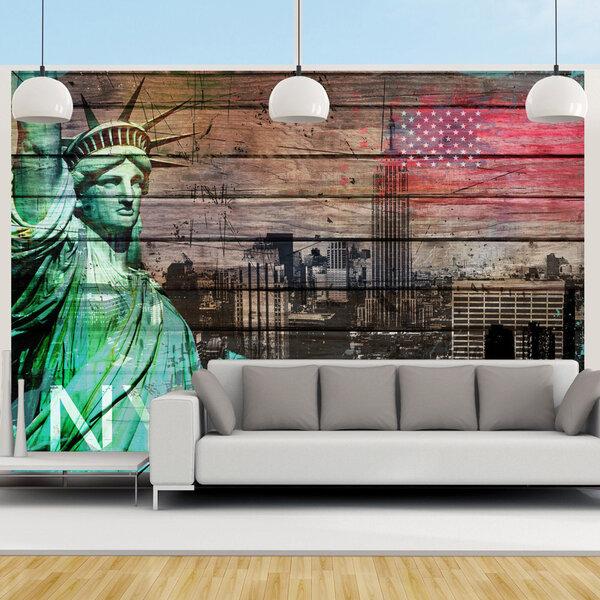 Fototapeet - NYC symbols