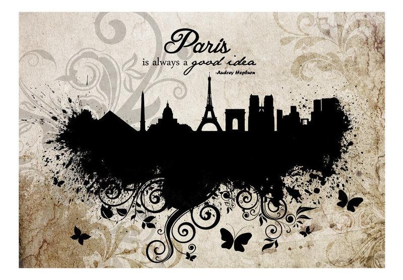 Fototapeet - Paris is always a good idea - vintage