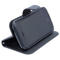 Telone Fancy Diary Book Case Sony D2303 Xperia M2 Чехол-книжка со стендом Черный