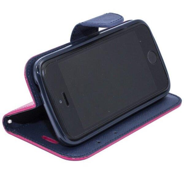 Kaitseümbris Telone Fancy Diary Bookstand Sony Xperia Z1 Compact, Roosa
