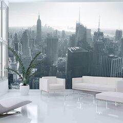 Fototapeet - New York City skyline black and white
