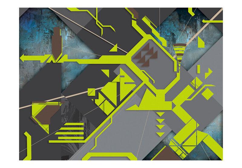 Fototapeet - Dynamic paths