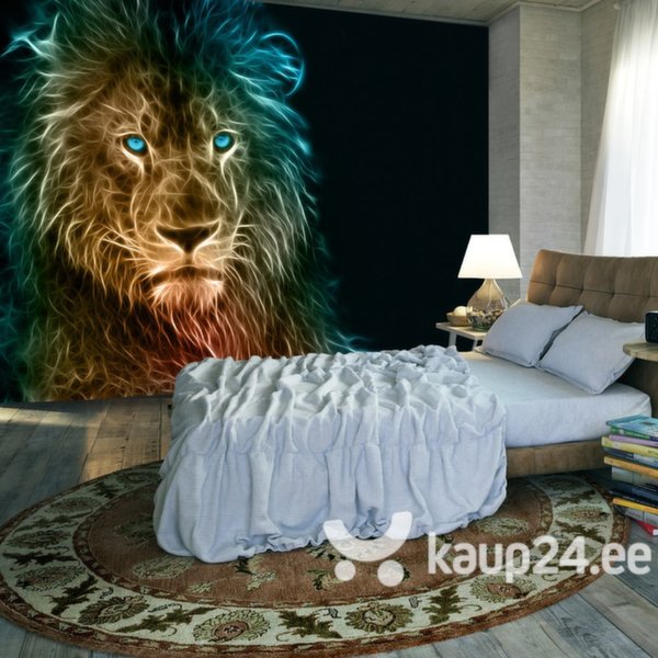 Fototapeet - Abstract lion