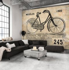 Fototapeet - Old School Bicycle