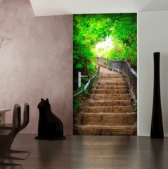 Fototaustapilt uksele - Photo wallpaper – Stairs from nature I