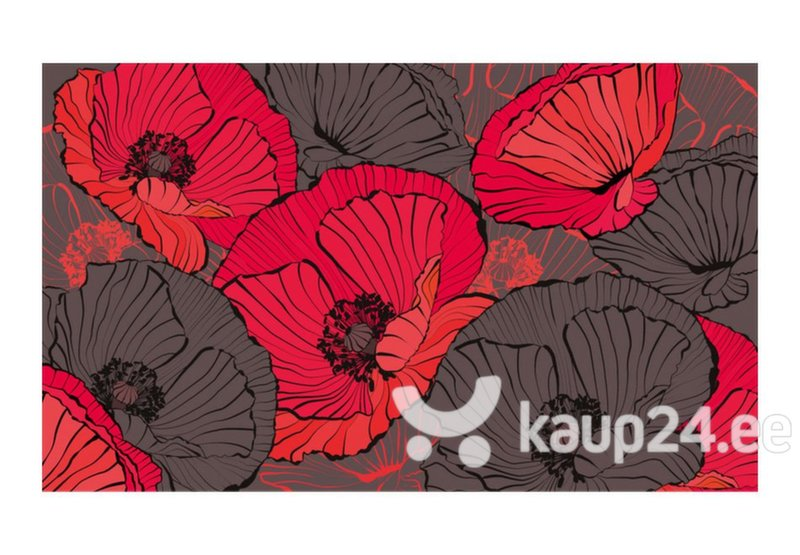 Fototapeet - Pleated poppies tagasiside