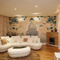 Fototapeet - Buddha of prosperity