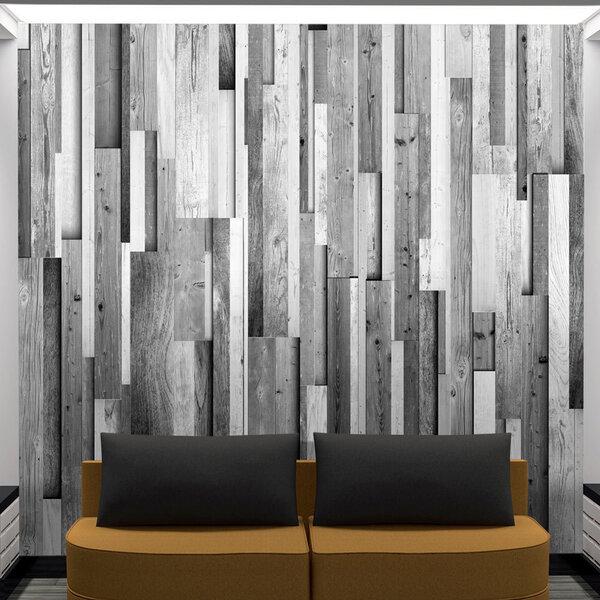 Fototapeet - Gray wood