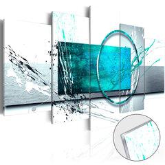 Akrüülprintimine - Turquoise Expression [Glass]