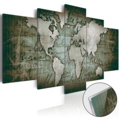 Akrüülprintimine - Acrylic prints – Bronze map III