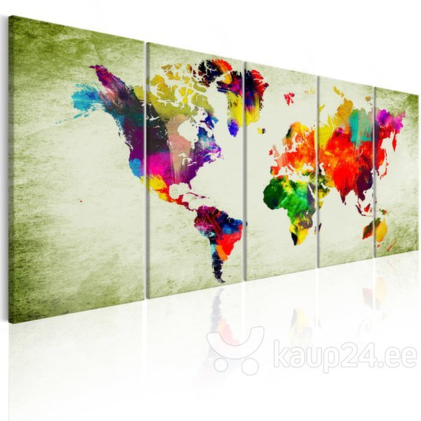 Maal - Colourful Continents