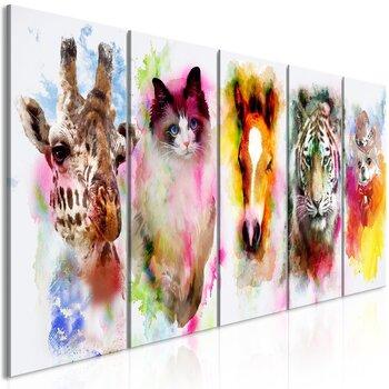 Maal - Watercolour Animals (5 Parts) Narrow