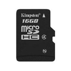 Mälukaart KINGSTON MicroSDHC 16GB, klass 4