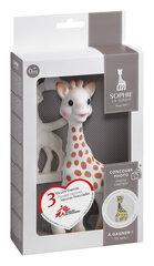 Närimisrõngaste komplekt Vulli Sophie la girafe, 516510E hind ja info | Imikute mänguasjad | kaup24.ee