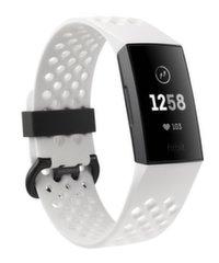 Nutivõru Fitbit Charge 3, Graphite/Valge