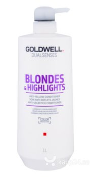 Palsam heledatele juustele Goldwell Dualsenses Blonde & Highlights 1000 ml hind ja info | Palsam heledatele juustele Goldwell Dualsenses Blonde & Highlights 1000 ml | kaup24.ee