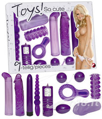 Sekslelude komplekt Toys so cute You2Toys